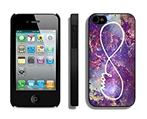 I phone 4 4s Cases, Infinity Love Galaxy Iphone 4 4s Cases Black Cover