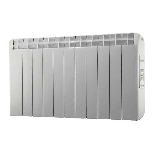 farho XP - Radiador Eléctrico de bajo Consumo 1210 W, Digital Programable y opción WiFi - Emisor Térmico Ideal para estancias hasta 18,40 m2-20 AÑOS DE ...