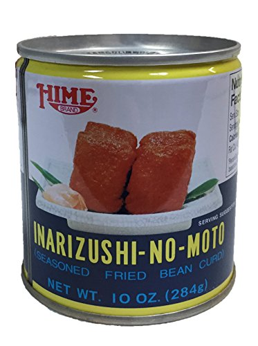 Hime Inarizushi-No-Moto Seasoned Fried Bean Curd Canned 10 oz (1 Can)
