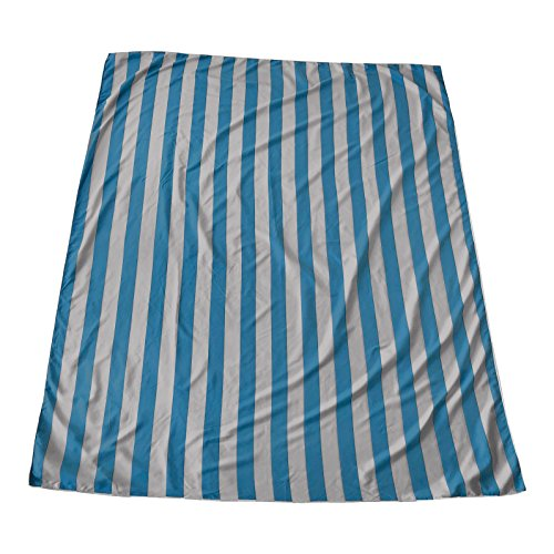 Microfiber Beach Blanket/Outdoor Picnic Blankets (64 x 76 inches) XL Beach Towel – Fits Two - Corner Anchor Pockets - Sand Free - Fast Dry - Travel – Sport - Camping