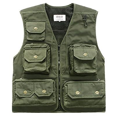 Marsway Fly Fishing Vest Multi Pockets Travel Photography Vest Outdoor Hunting Breathable Waistcoat Jackets