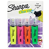 Sharpie 1912769 Clear View Highlighters, Chisel