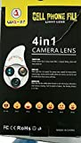 Cell Phone FILL Light LENS ,4 in 1 Camera LENS