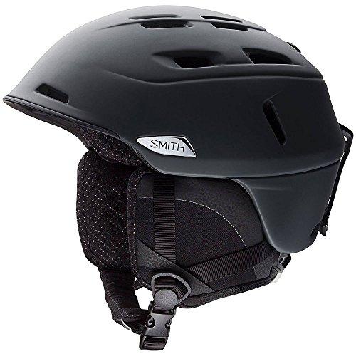 X-large Snowmobiles Helmets - Smith Optics Camber - MIPS Adult Ski Snowmobile Helmet - Matte Black/X-Large
