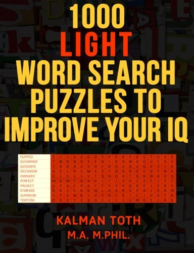 1000 Light Search Puzzles Improve product image