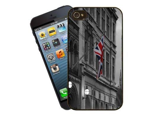 Eclipse Geschenk Ideen London Building & Union Jack–iPhone 5/5S Schutzhülle