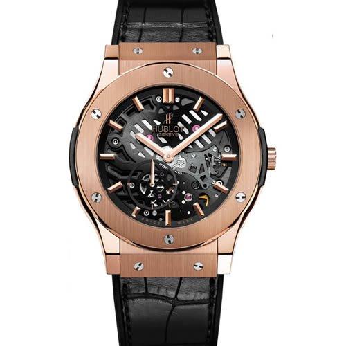Hublot clásico fusión Classico hombre ultrafina King dorado Manual reloj – 515. Ox. 0180