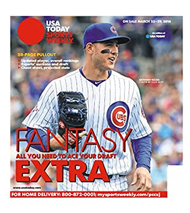 USA Today Sports Weekly Print Magazine