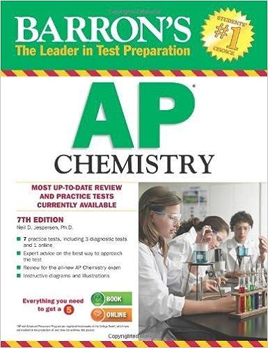 Book Ap Chemistry (Barron's Ap Chemistry) by Neil D. Jespersen (17-Mar-2014)