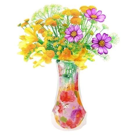 Amazon Love Of Life Ultra Mini Plastic Flower Vase Portable