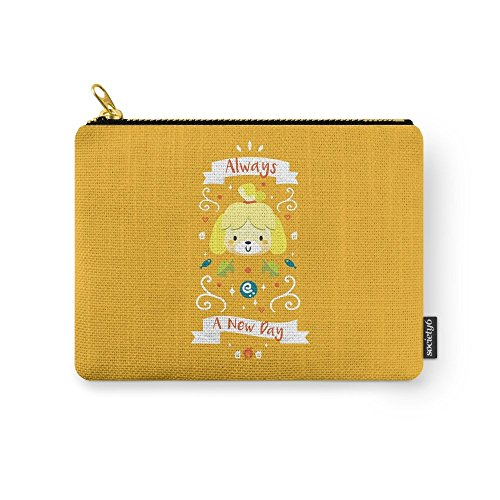 Society6 Animal Crossing: Isabelle Carry-All Pouch Small (6