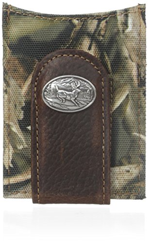 Ariat Men's Deer Concho Bonz Money Clip, One Size ()