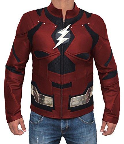 The Flash/Barry Allen Ezra Miller Justice League Jacket S