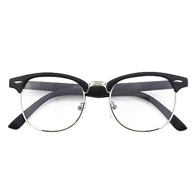 ce1fc39600b59 CGID CN56 Lunettes à verres transparents UV400 nerd à monture d écaille  vintage inspirées