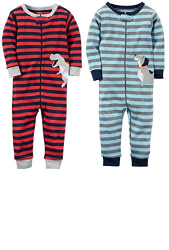 Carters Baby Cotton Zip Up Pajamas