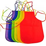 YazyCraft Young Picasso Artist 's Painting Apron 10 pcs assorted color