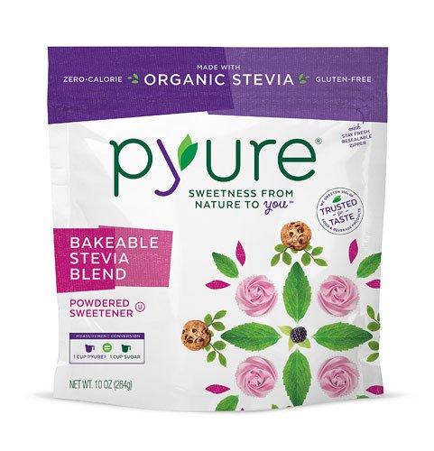 Pyure Brands Stevia Sweetener Bakeable Blend Gluten Free -- 10 oz - 2 pc