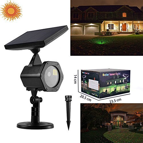 HEYFON Solar landscape lighting XL-H11 Star Projectors lawn Decorative Lighting Laser lights solar, common use indoor and outside