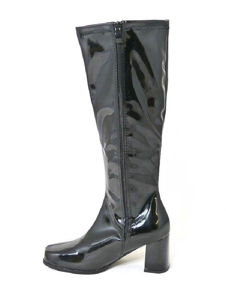Ladies – Botas de disfraz de Go Go, fiesta de años 60, 70, retro, tallas 35,5, 37, 38, 39,5, 40,5, 42, varios diseños: Amazon.es: Zapatos y complementos