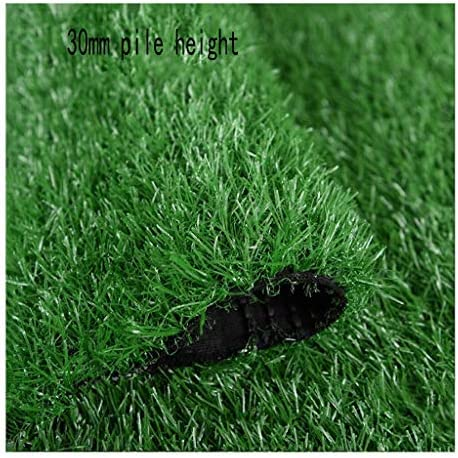 XEWNEG 高品質人工芝草カーペットパイル高さ30mm、バルコニーの屋内外の装飾に最適 から選択可能 (Size : 2x5M)