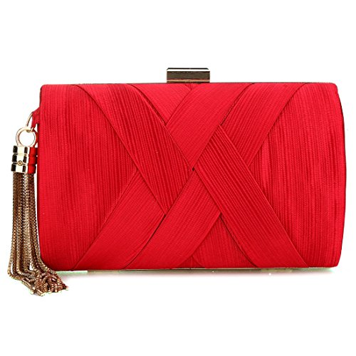 red Bag pour YYW Evening Pochette femme wXHqBpZxR