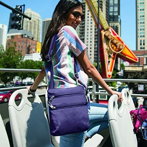 Great Sales on Travelon Anti theft Classic Slim Dbl Zip