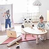 "iloom Eco-Friendly Animal Character Kids Sofa Chair Living Room Playroom Furniture 19.6"" x 19.6"" x 18.8"", Ivory"