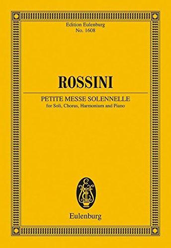 Petite Messe Solennelle Study Score (Eulenburg Miniature Scores)
