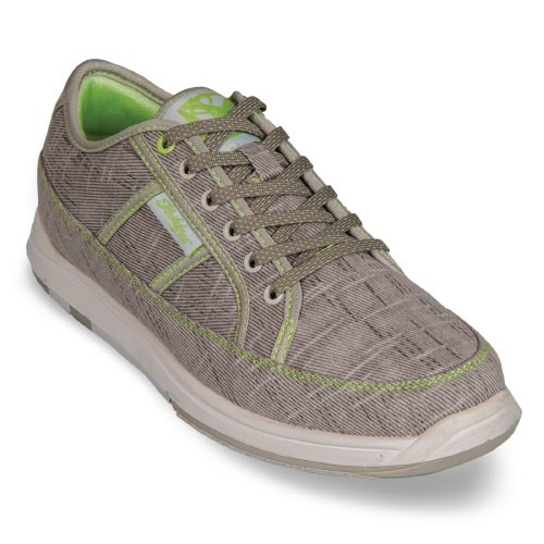 KR Strikeforce Bowling Shoes Womens Ivy Bowling Shoes- 7 1/2 M US, Grey/Paradise Green, 7.5