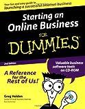 Starting an Online Business for Dummies®, Greg Holden, 0764506889