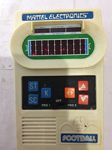 Picture of a Mattel Electronics Football1977 785035080813