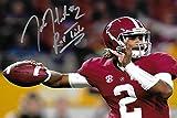 "Jalen Hurts ""Roll Tide"" Autograph Replica Poster - Alabama Crimson Tide"