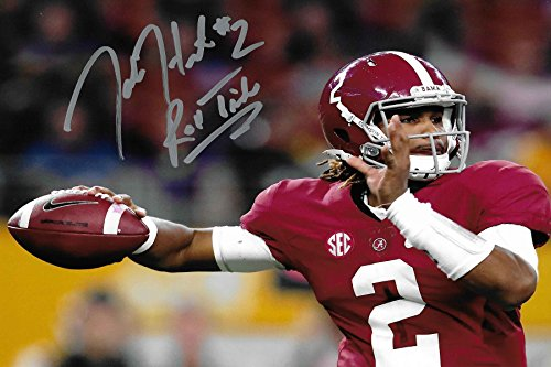 "Jalen Hurts ""Roll Tide"" Autograph Replica Poster - Alabama Crimson Tide"