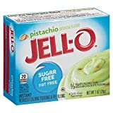 Jell-O Sugar-Free Instant Pudding and Pie Filling, Pistachio, 1-Ounce Boxes (Pack of 6)