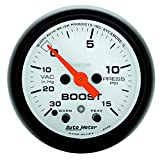 Auto Meter 5776 Phantom Electric Boost/Vacuum Gauge
