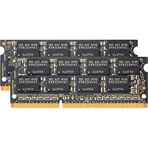 Samsung Electronics - 30nm SODIMM 8 Dual Channel Kit DDR3 1600 (PC3 12800) 204-Pin DDR3 SO-DIMM MV-3T4G3D/US