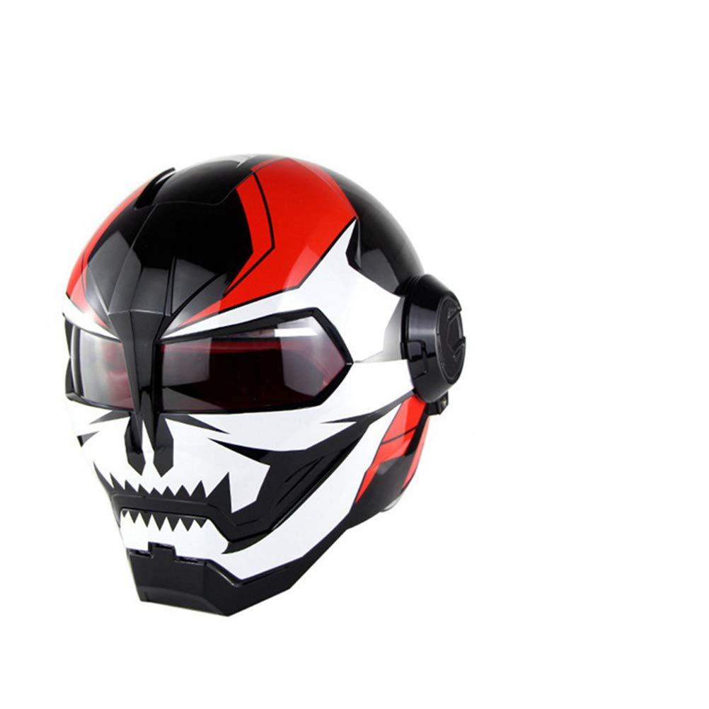 オートバイヘルメット オフロードオートバイレーシングヘルメット フルフェイスダンピング 耐久性 モータースポーツヘルメット 多色選択 快適 B07QWS86B8 Medium カラー6 カラー6 Medium