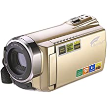 Video Camera, Hausbell Camcorder with WiFi,HDV-5052 1920x1080p Digital Video Camera Camcorder with Infrared Night Vision, Touch Screen and HDMI Output