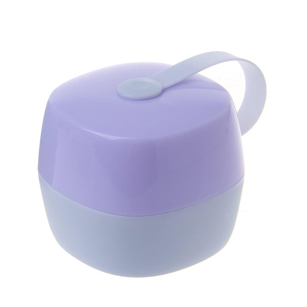 Pink Portable Baby Infant Kids Pacifier Nipple Cradle Case Holder Travel Storage Box
