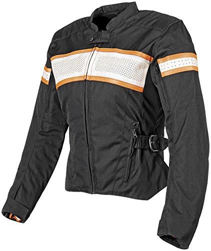 Ladies Leather Bike Jacket - 4