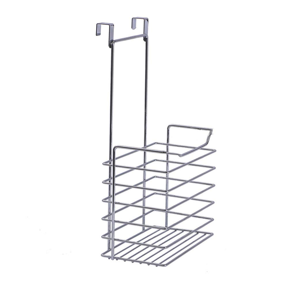 Shelf Storage Racks Storage Basket Shelf Baskets Kitchen Storage Rack Iron Art Hanger Cupboard Hanging Basket Wall-Mounted Spice Rack ZHAOYONGLI (Size : 19.714.36.2cm)