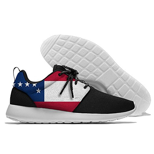 Flag Leisure Sports Shoes Running Shoes Athletic Sneakers Black LZEaH