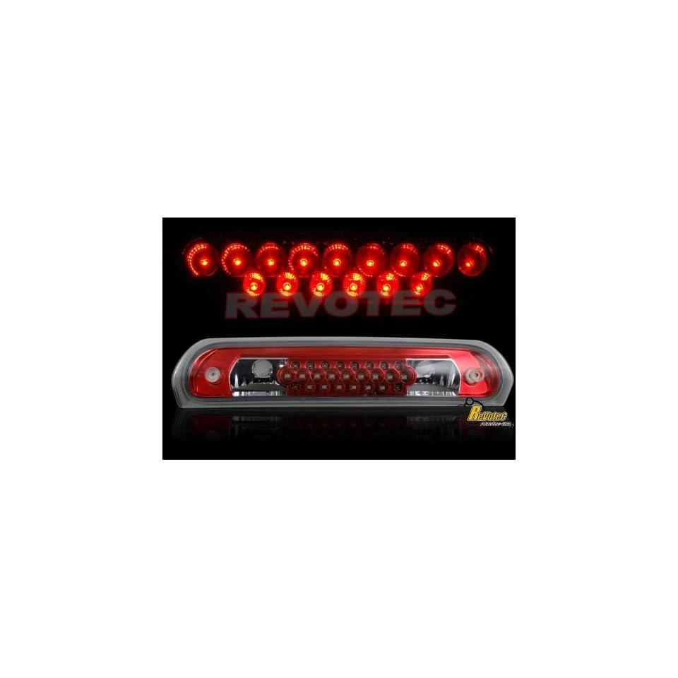 Dodge Ram Led Tail Lights Euro Red LED Third Brake Light 2001 2002 2003 2004 2005 2006 01 02 03 04 05 06