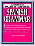 img - for College Outline: Spanish Grammar (Books for Professionals) book / textbook / text book