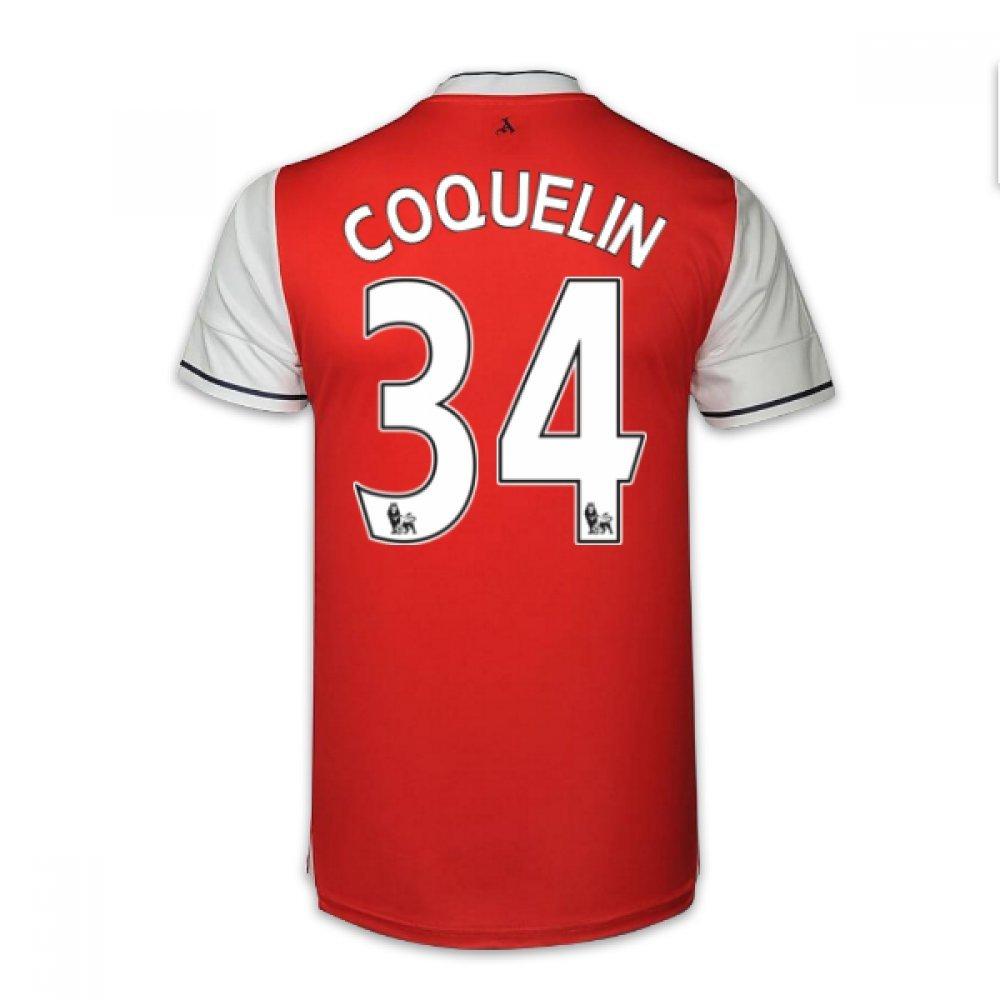 2016-17 Arsenal Home Shirt (Coquelin 34) B01N1TN1UWRed XL Adults