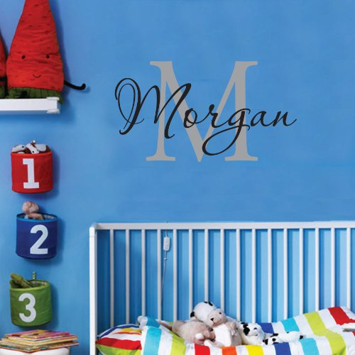 Personalized-Monogram-Kids-Wall-Decals-Boys-Wall-Decal-Name-Vinyl-Lettering-baby-boy-nursery-wall-decal-Morgan
