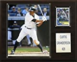 C & I Collectables 1215CGRAND MLB Curtis Granderson New York Yankees Player Plaque
