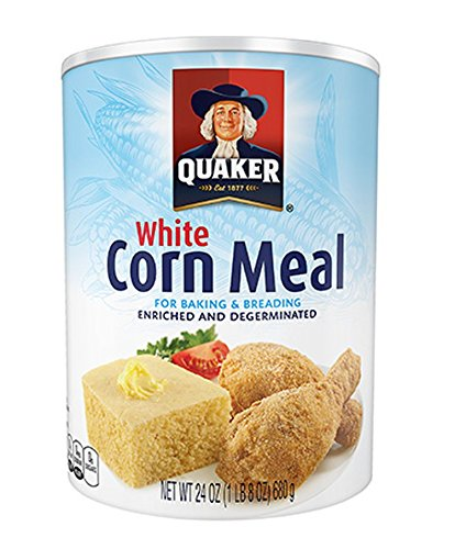 Cornbread Dressing Mix (Quaker White Enriched & Degerminated Corn Meal (Pack of 2))