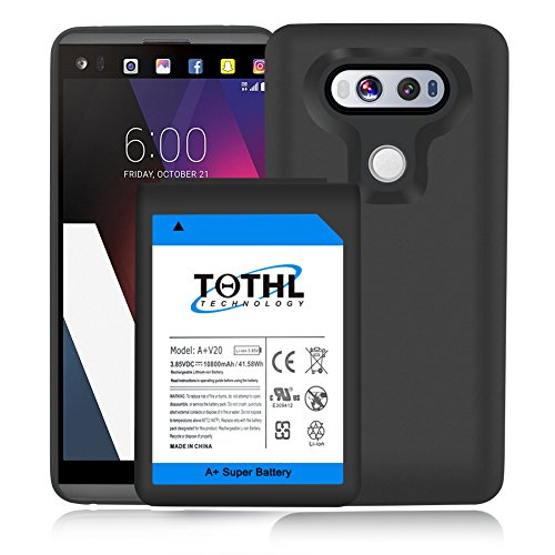 huge discount 38bf8 be643 TQTHL LG V20 Extended Battery | 10800mAh Extended Battery ...