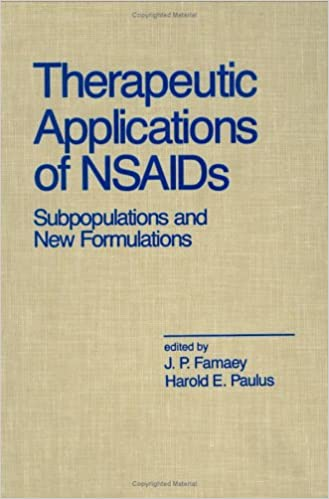 Therapeutic Applications of Nsaids: Subpopulations and New